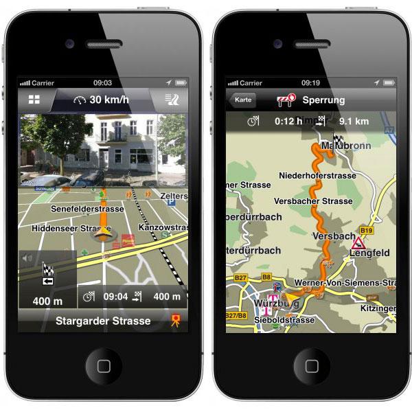 Navigon per iPhone e iPad