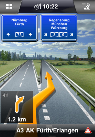 Navigon Europa per iPhone e iPad