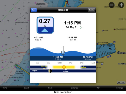 Navionics iPad