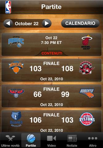 NBA Game Time