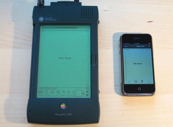 newton e iphone