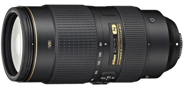 Nikkor FX 80-400mm f/4.5-5.6G ED VR