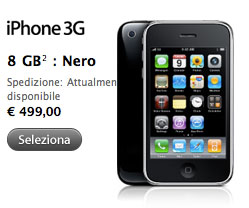 iphone non disponibile