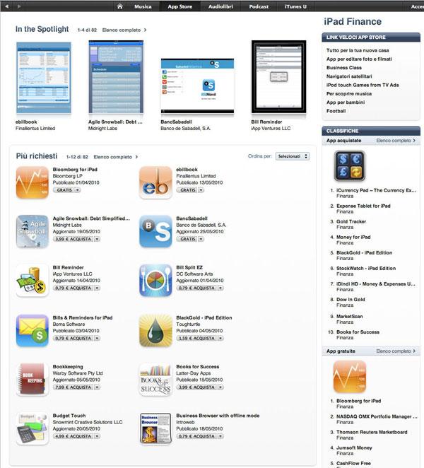 nuova grafica negozio app store