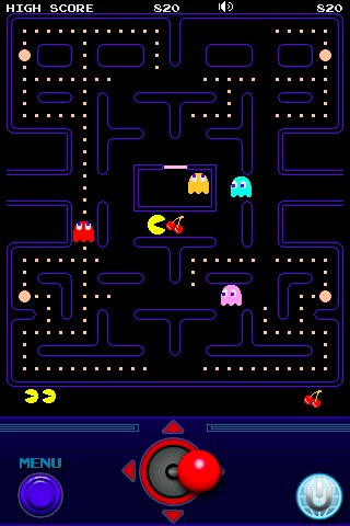 pac-man iphone