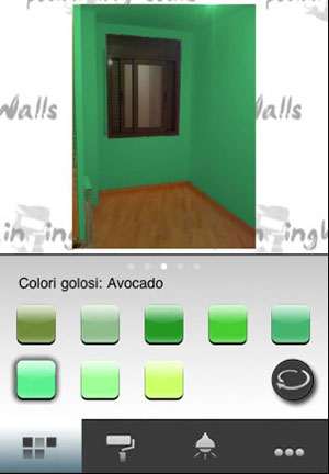 Elegant luapp per colorare casa con iphone ora migliorata e in italiano with colorare casa - App per colorare pareti casa ...