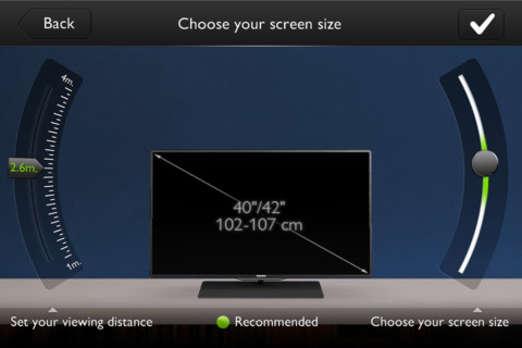 Philips TV Buying Guide App
