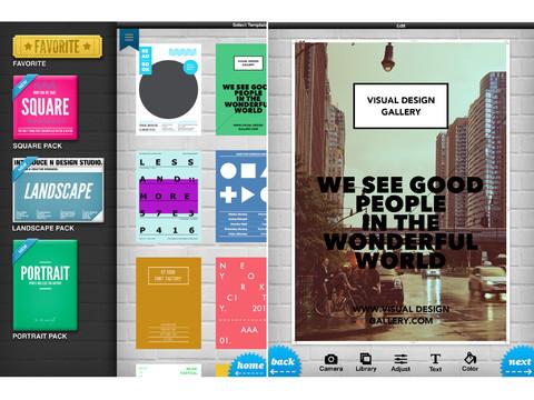 Phoster per iPhone e iPad