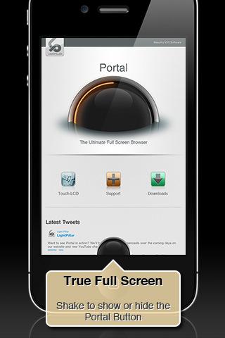 Portal - Full Screen Browser