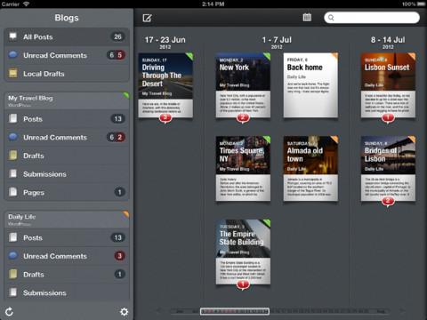 posts per iPad