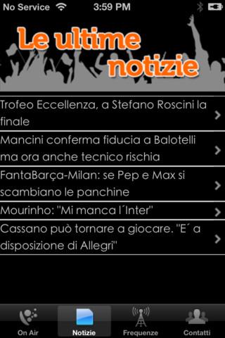 RadioSportiva su iPhone