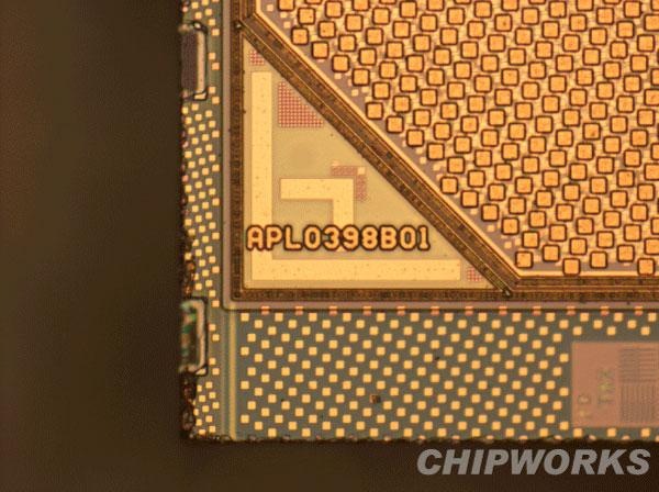 radiografia processore a4 ipad