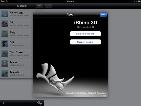 iRhino 3D