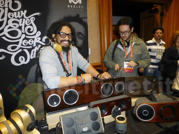 Rohan Marley - House of Marley CES 2013