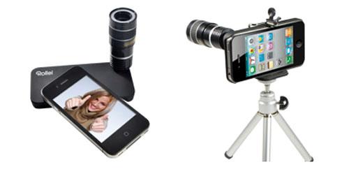 Rollei tele 8x per iPhone 4