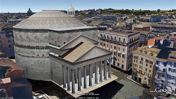 Da Oggi Roma E In 3d Su Google Earth E Google Maps