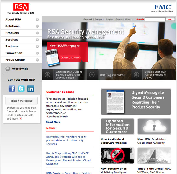 RSA EMC