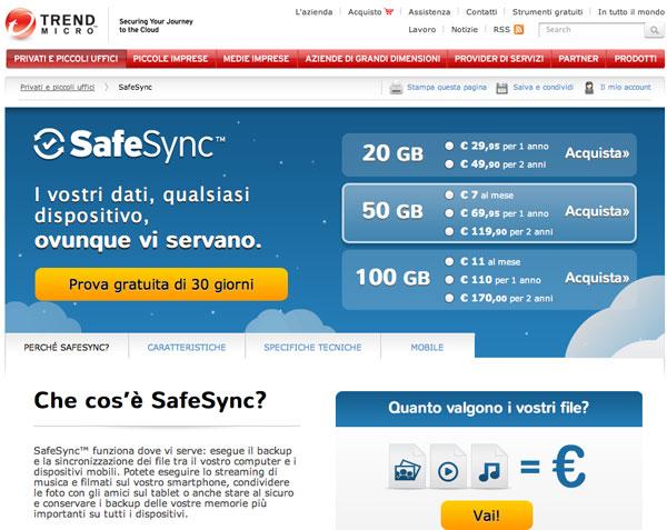 SafeSync Trend Micro