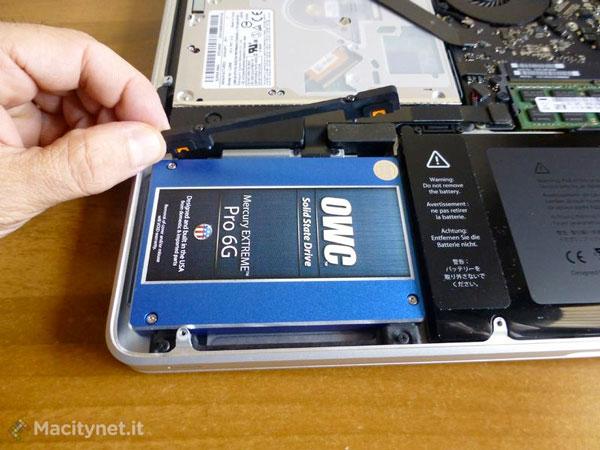 disco fisso ssd macbook pro