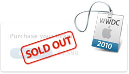 WWDC 2010 Sold Out icon