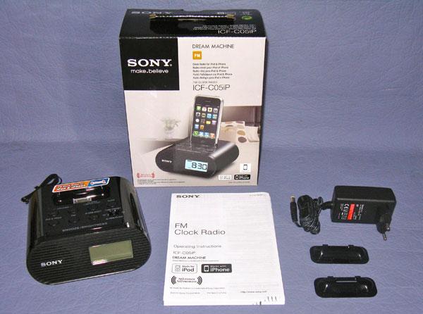 Sony icf c05ip la radiosveglia minimalista per iniziare for Kit casa icf