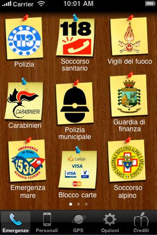 SOS Emergenze