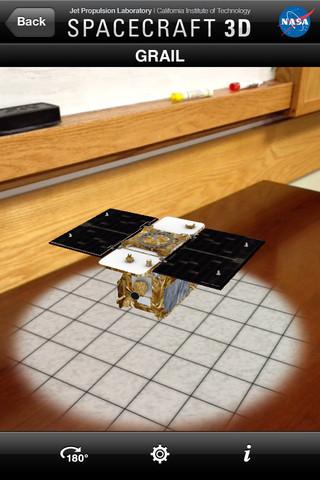 NASA Spacecraft 3D