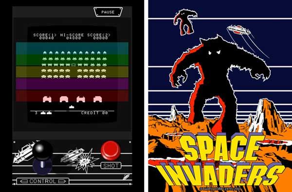 space invaders per ipad
