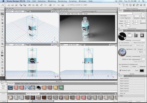 Strata foto 3d cx free download nixbaltimore for Modellazione 3d gratis