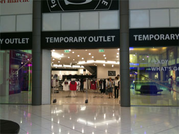 temporary shop orio al serio area apple store