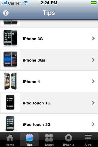 trucchi & segreti Edizione iPhone e iPod touch screen