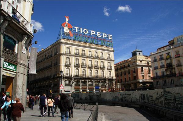 Apple Store palazzo Tio Pepe Madrid