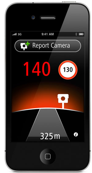 TomTom Autovelox per iPhone