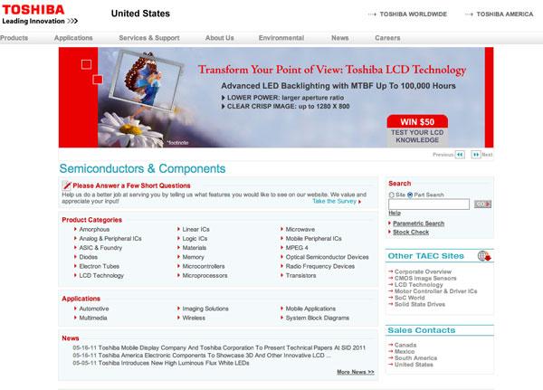 Toshiba SID 2011