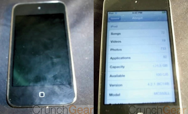 iPod touch 128GB capacitivo
