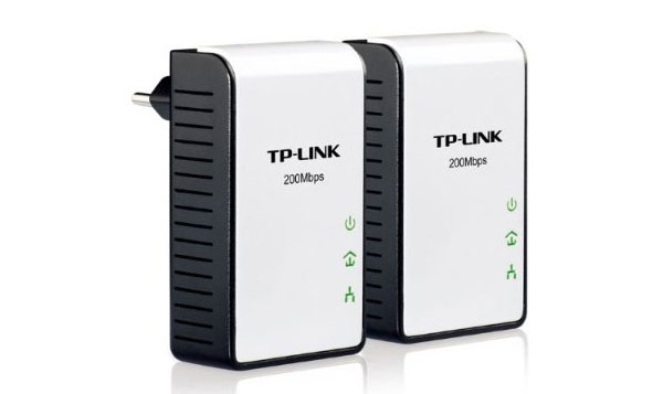 TP-LINK TL-PA211KIT Mini Powerline Ethernet Adapter Starter Kit 200Mbps