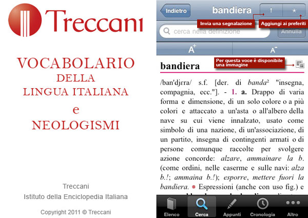 treccani per iPhone