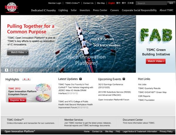 tsmc sito web