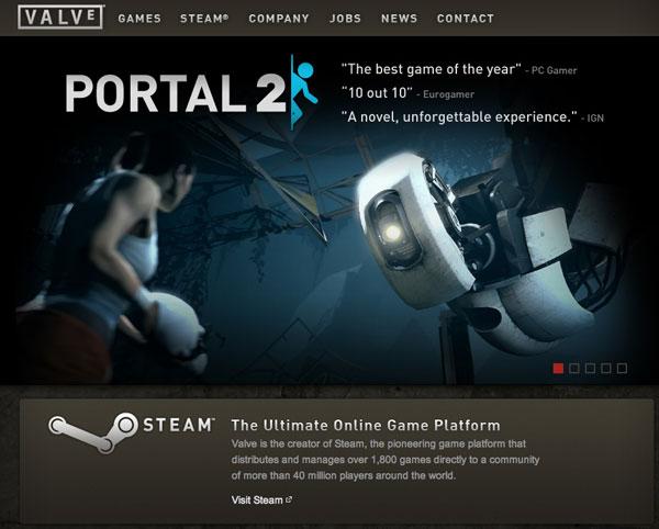sito web valve