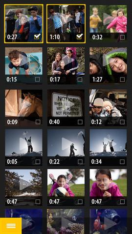 Adobe VideoBite per iPhone