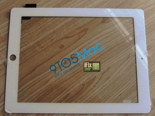 iPad 2 cornice bianca
