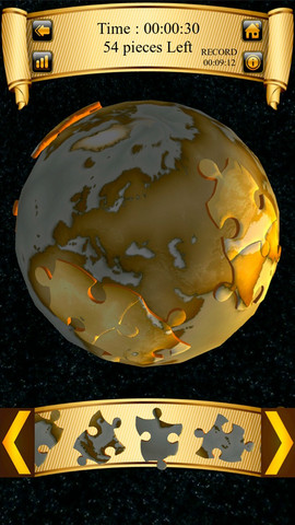 World Puzzle 3D per iPhone e iPad