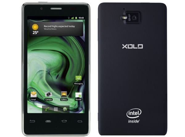 Xolo X900 Intel Inside smartphone