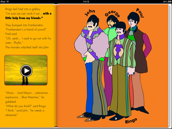 yellow submarine ibook