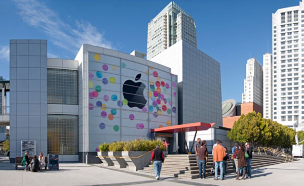 Yerba Buena Center for the Arts allestimento iPad 3