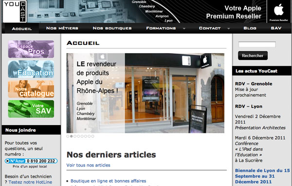 Francia: istanza di fallimento per un'altra catena di rivenditori Apple